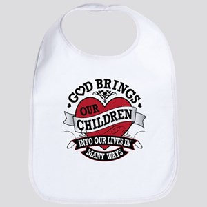 Adoption Tattoo Bib